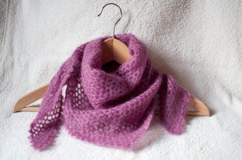 Foulard Carresse crochet