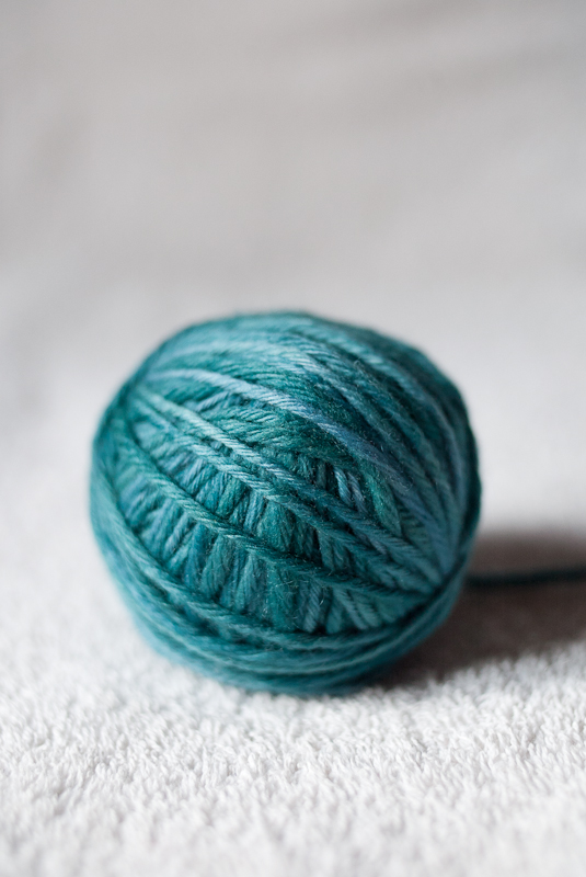 Malabrigo Twist Green Gray