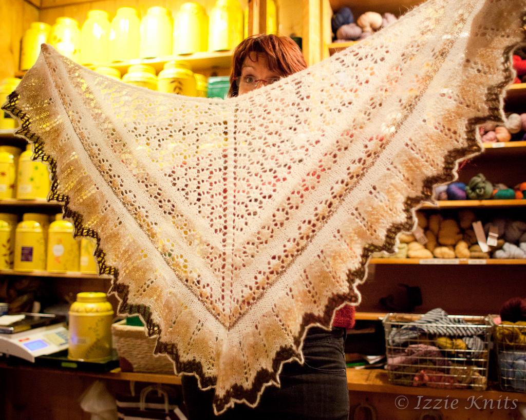 Einband shawl