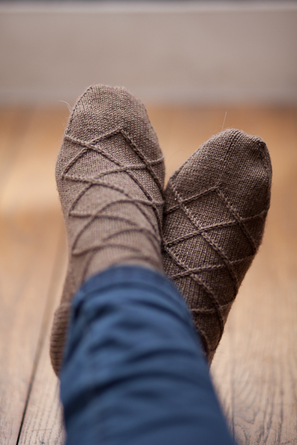 Business Casual Sock by Izzie Knits 3