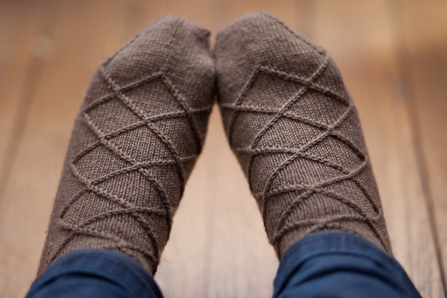 Business Casual Sock by Izzie Knits
