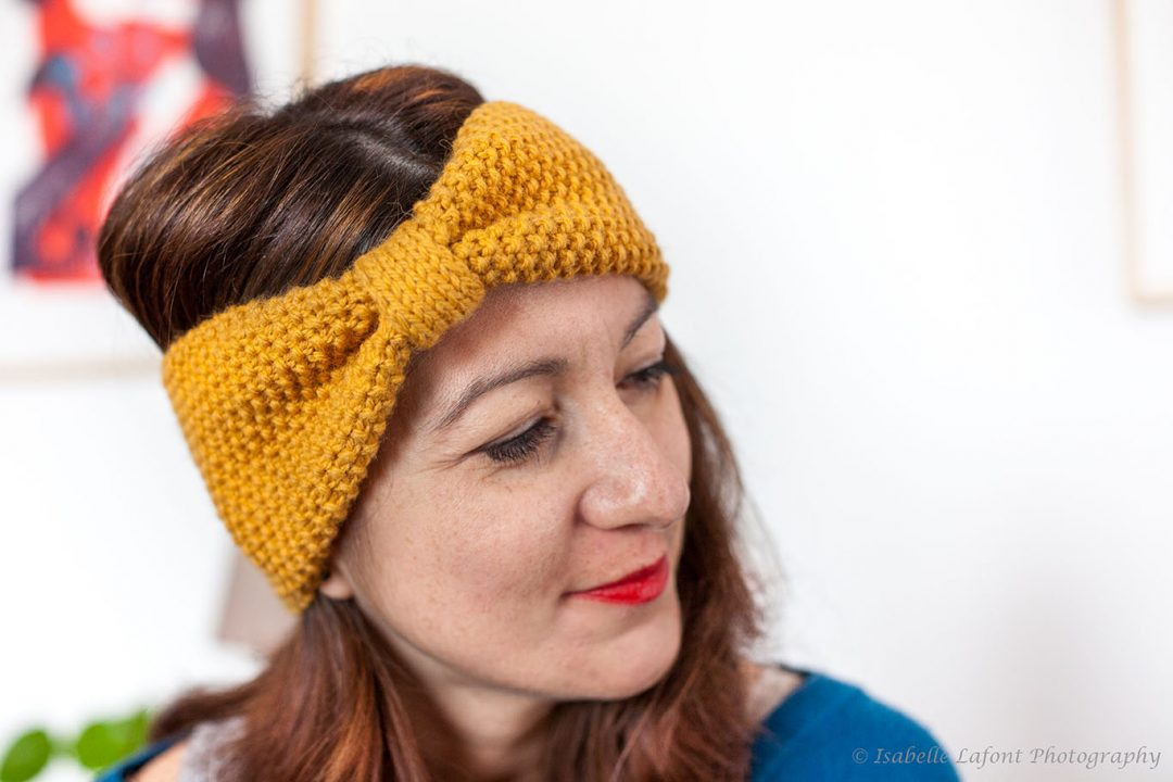 Risoul Headband by Izzie Knits