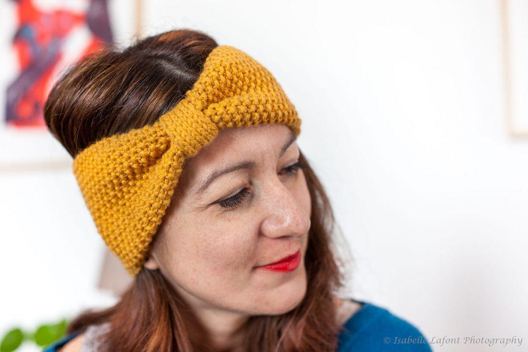Risoul Headband by Izzie Knits